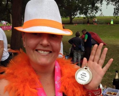 Pinkie Triathlon 2015