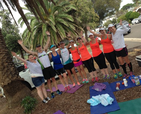 Race-FIT team training for Australian Running Festival